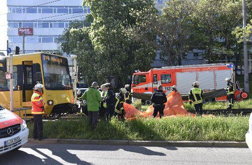 Wieder schwerer Stadtbahnunfall in Stuttgart