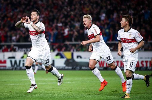 Der VfB Stuttgart hat gegen den SC Freiburg einen 3:0-Heimsieg gefeiert. Foto: Bongarts