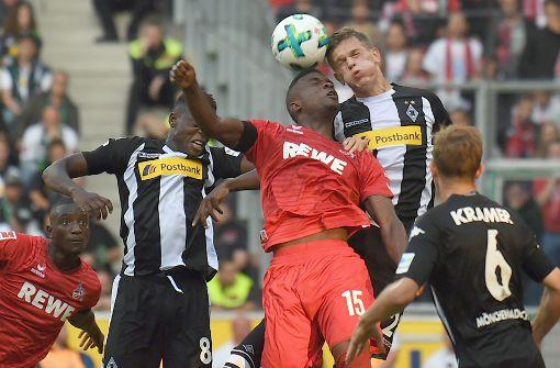 Köln unterliegt beim Ligastart gegen Gladbach