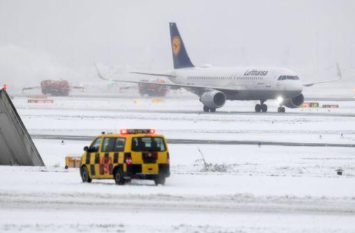 """""""Dramatische Lage"""" am Flughafen Frankfurt"""