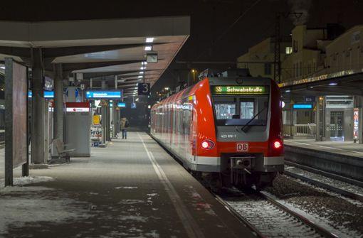 Beim Bahnhof Ludwigsburg gab in der Nacht auf Mittwoch es einen Konflikt. Foto: factum/Weise