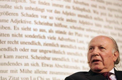 Literaturnobelpreisträger Imre Kertesz gestorben