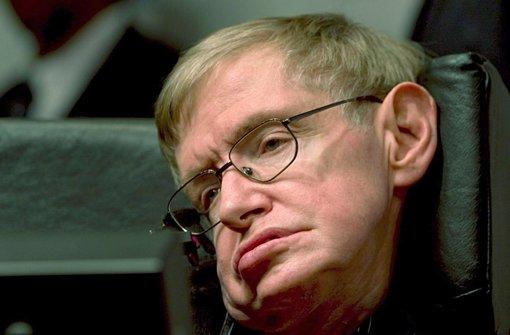 Der britische Astrophysiker Stephen Hawking (Archivfoto). Foto: EPA