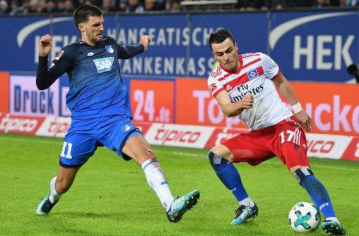 Hoffenheim erleidet Niederlage beim Hamburger SV