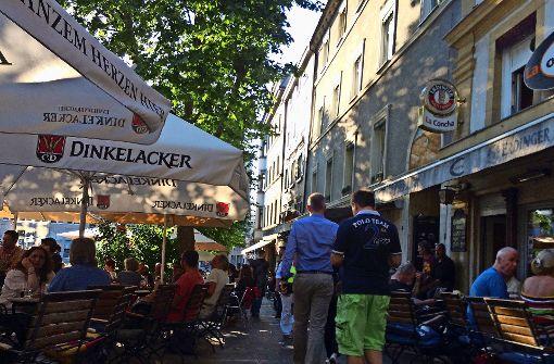Politik schaltet sich am Wilhelmsplatz ein