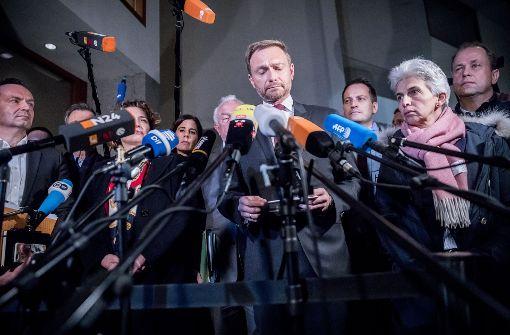 """""""Die FDP stürzt das Land in eine Krise"""""""