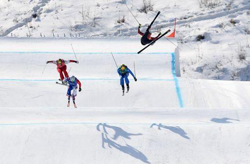 Skicrosser leben gefährlich
