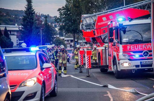 Zehn Verletzte nach Wohnhausbrand