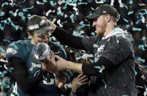 Trump sagt Besuch von Super-Bowl-Champion Philadelphia ab