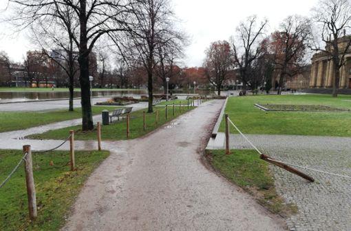 Der provisorische Radweg soll verschwinden