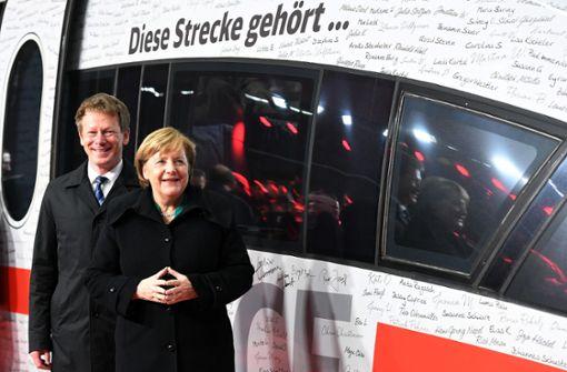 Bahn verdoppelt Fahrgastzahl durch Neubaustrecke