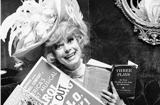 """""""Hello Dolly"""" machte sie berühmt"""