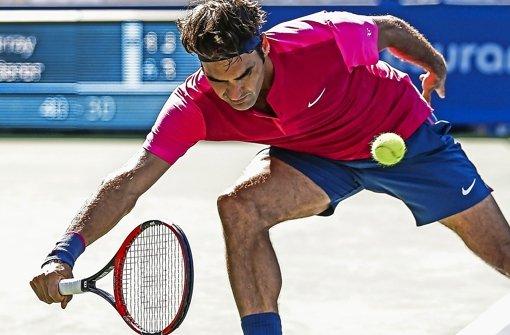 """Federer packt den """"Federer"""" aus"""