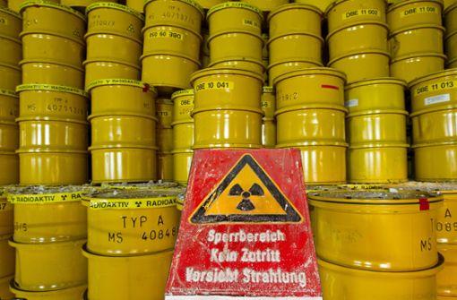 Radioaktiver Müll in Morsleben: Bis 2031 soll in Deutschland ein zentrales Atommüllendlager für ausgediente Brennelemente gefunden sein. Foto: dpa