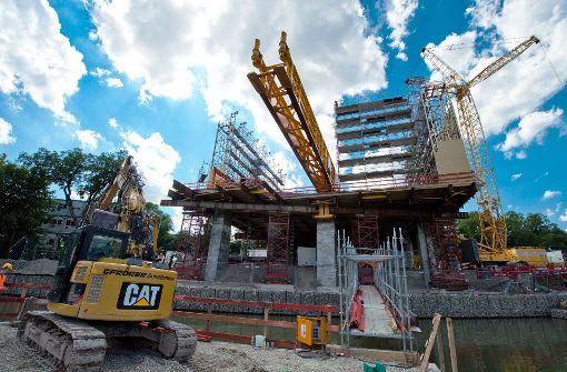 Wichtige Brückenbauten laut Bahn im Zeit- und Kostenrahmen