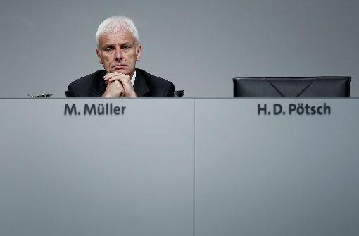 Staatsanwaltschaft ermittelt gegen VW-Chef Müller