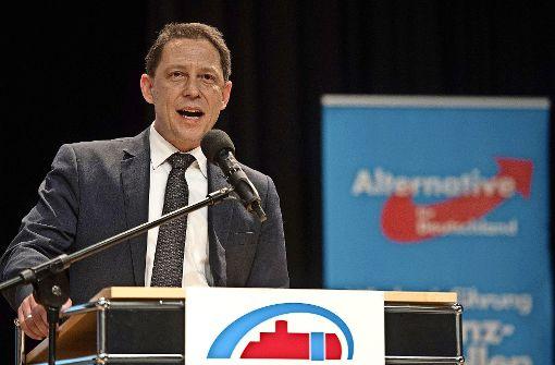 Will die Landes-AfD für den Wahlkampf wieder vereinen: Ralf Özkara. Foto: dpa