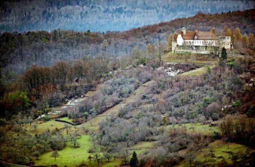 Neues Biwaklager unter der alten Burg