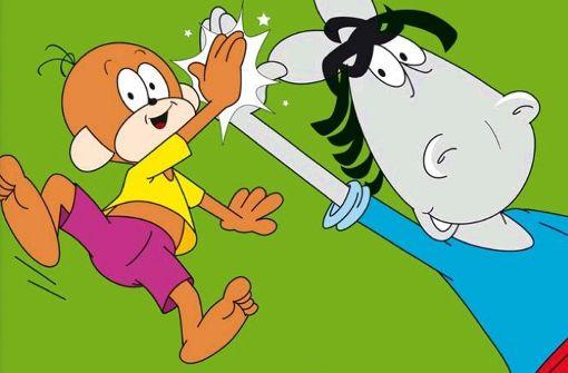 Es ist geschafft! Äffle & Pferdle kommen ins Fernsehen zurück. Foto: Lang-Film