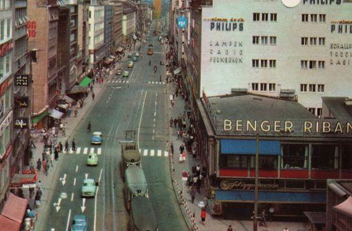 Die obere Königstraße in den 1960ern. Foto: Sammlung Wibke Wieczorek