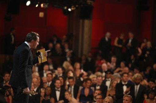 Leonardo DiCaprio nutzte seine Dankesrede auch dafür, auf ein Thema hinzuweisen, für das sich der Schauspieler seit Jahren einsetzt: der Umweltschutz Foto: AP