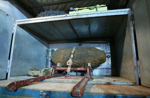 Weltkriegsbombe in Lahr entschärft
