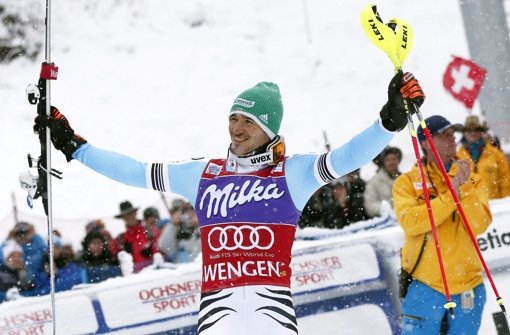 Neureuther gewinnt in Wengen