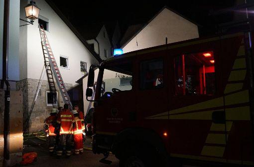 Zwei Menschen sind bei dem Brand ums Leben gekommen