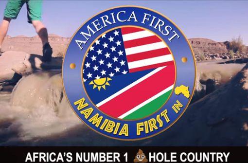 """Stolzes """"Drecksloch"""" Namibia veräppelt Donald Trump"""