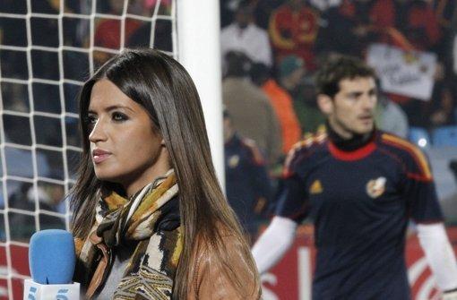 Casillas und seine Sara im Elternglück