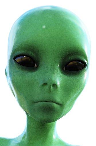 Aliens: An absurden und kruden Verschwörungstheorien herrscht kein Mangel. Hier einige Kostproben: In den Geheimlabors des streng abgeschirmten Luftwaffenstützpunkts Area 51 im US-Bundesstaat Nevada werden die Überreste abgestürzter Alien-Raumschiffe und ihre Besatzungen untersucht. Foto: Crimson/Fotolia