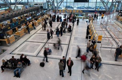 Auch in Stuttgart Flüge verspätet