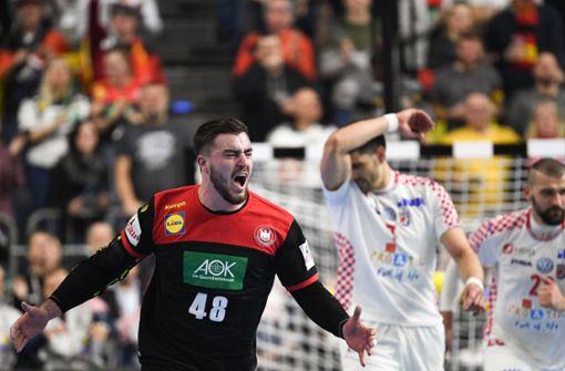 Deutschland nach Krimi gegen Kroatien im Halbfinale