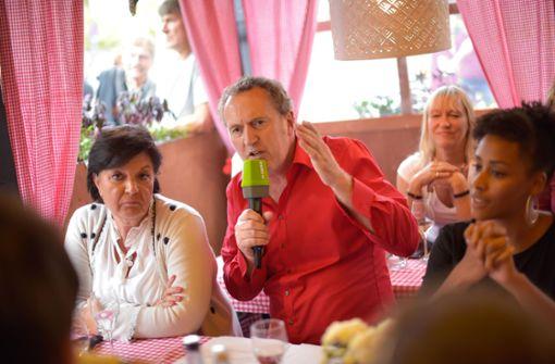 Moderator Tom Hörner gibt die Richtung vor... Foto: Lichtgut/Max Kovalenko