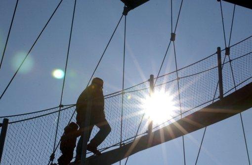 Im Höhenpark wird, unabhängig vom Wetter, der vierte Advent gefeiert. Foto: Weißbrod