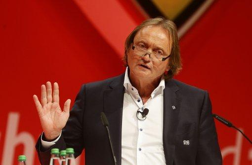 Martin Schäfer, der Vorsitzende des VfB-Aufsichtsrats. Foto: Pressefoto Baumann