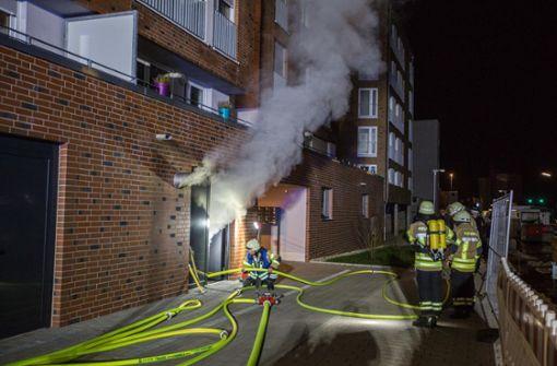 Das Feuer brach... Foto: 7aktuell.de/Simon Adomat