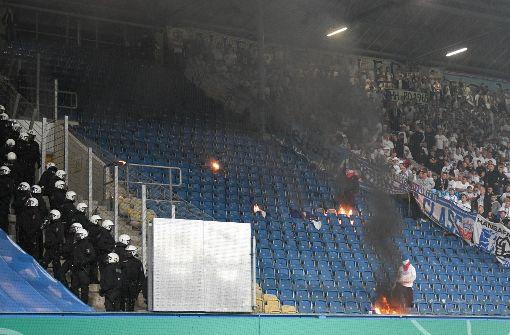 DFB-Präsident Grindel begnadigt Rostock