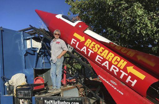 61-Jähriger will sich mit Rakete in die Luft schießen