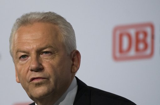 ksBahn-Chef Rüdiger Grube. Foto: dapd