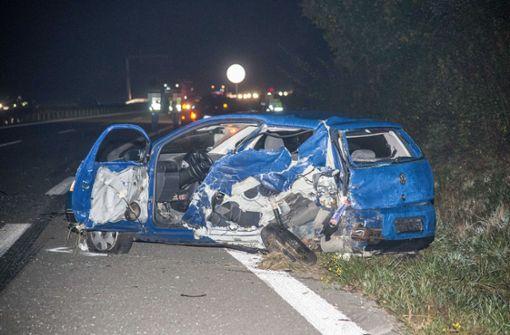 Bei einem schweren Unfall ist am Donnerstagmorgen auf der B29 ein 42-jähriger Mann ums Leben gekommen.  Foto: SDMG