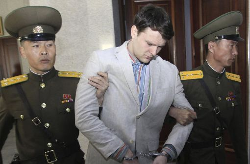 Nach Haft in Nordkorea: US- Student Warmbier tot