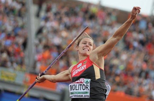 Olympia-Aus für Speer-Weltmeisterin