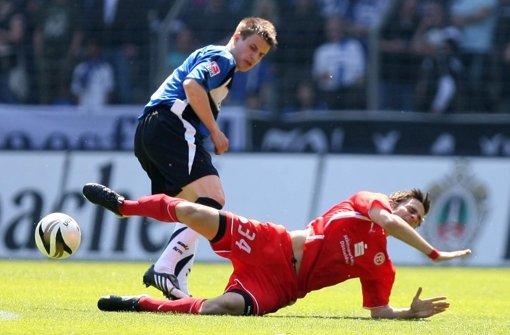 ... die soll er bei Fortuna Düsseldorf bekommen, die ihn bis 2010 ausliehen. Seine Bilanz: 30 Spiele, 13 Tore und vier Assists. Foto: dpa