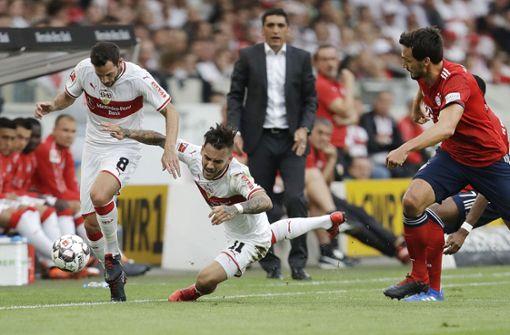 Wie sich die einzelnen VfB-Spieler geschlagen haben, lesen Sie in unserer Bildergalerie. Foto: AP