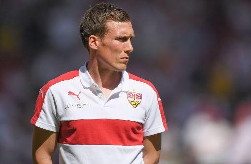 Der VfB-Coach Hannes Wolf vor dem Spiel. Foto: Bongarts