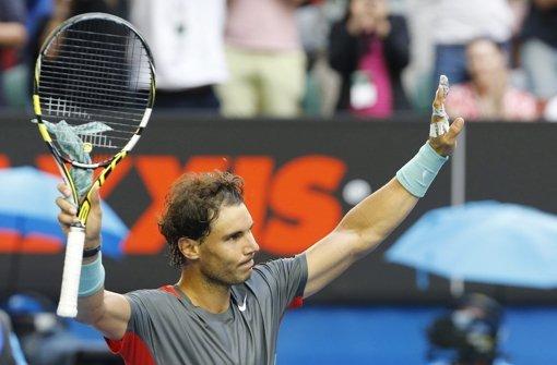 Nadal und Federer im Gleichschritt