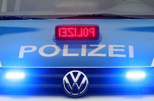 Mehrere Streifenwagen rückten nach der sexuellen Belästigung in Esslingen aus. Foto: dpa