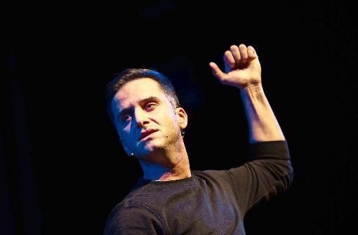 Comedian Özcan Cosar Foto: Lichtgut/Leif Piechowski
