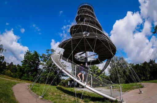 Der Killesbergturm in seiner ganzen Pracht. Foto: Lichtgut/Max Kovalenko